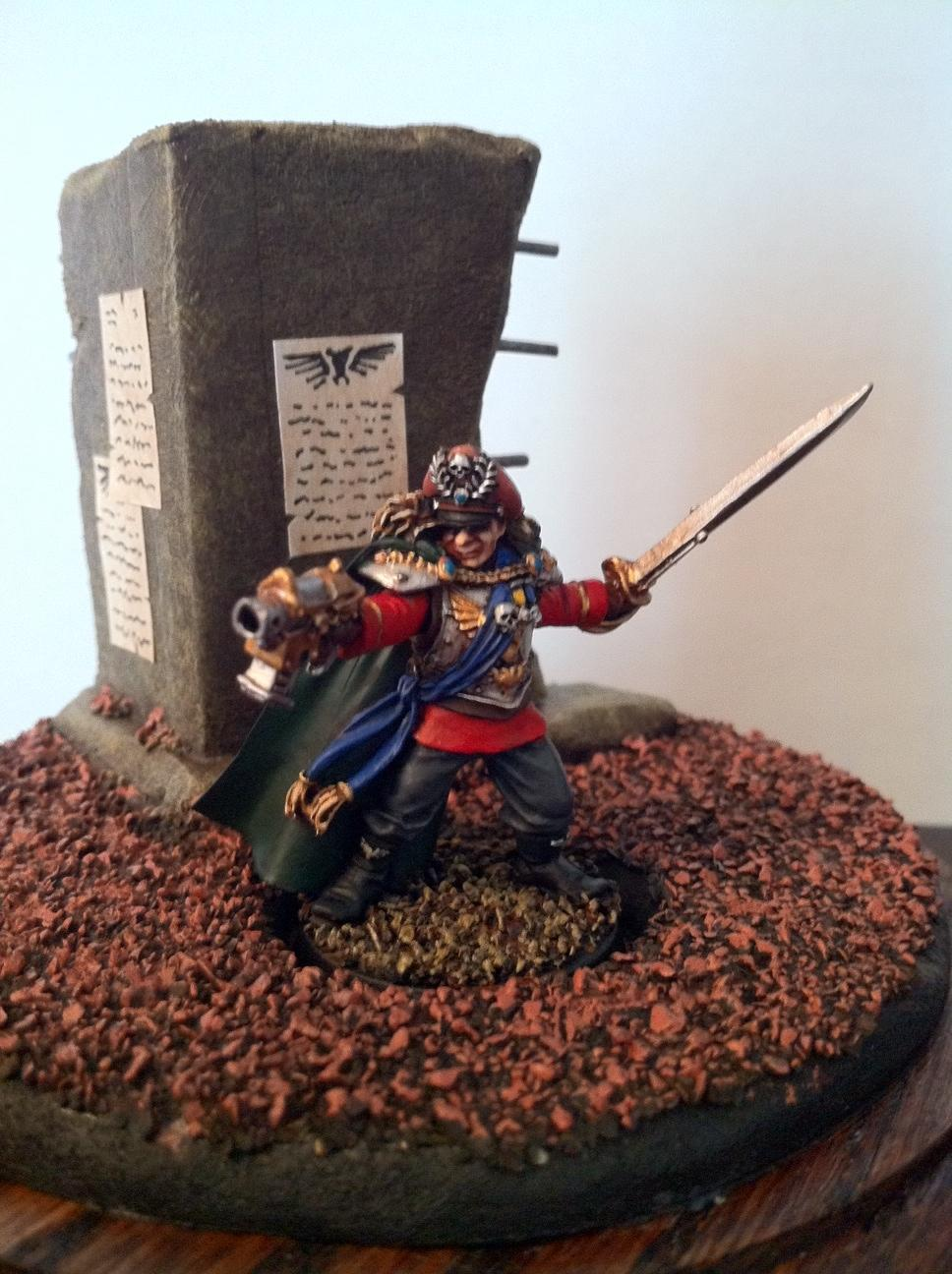 Commissar, Display, Imperial Guard