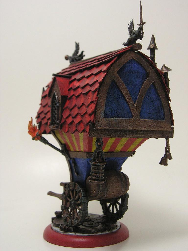 Malifaux Supply Wagon 4