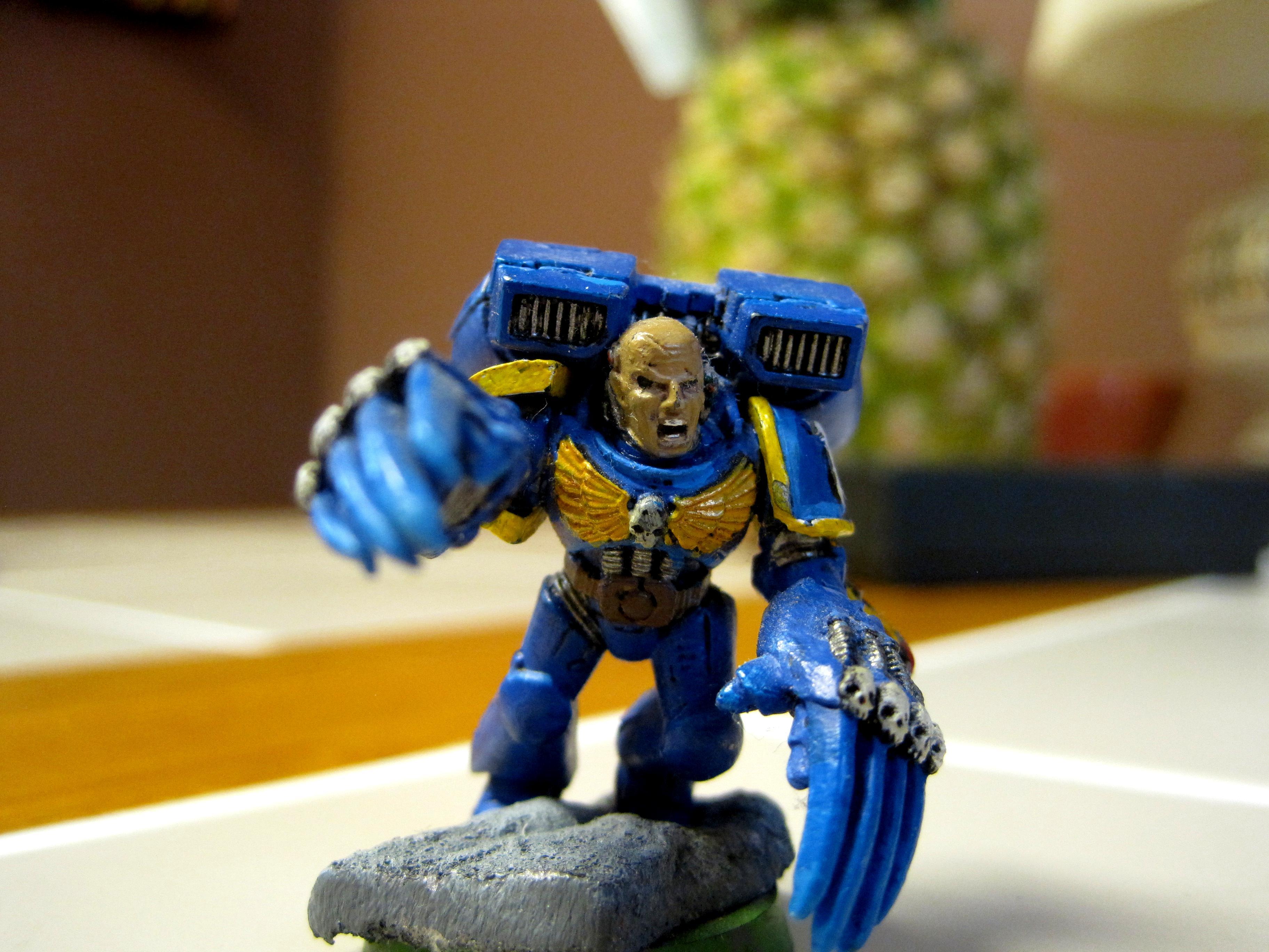 Assault, Lightning Claw, Sergeant, Ultramarines, Warhammer 40,000