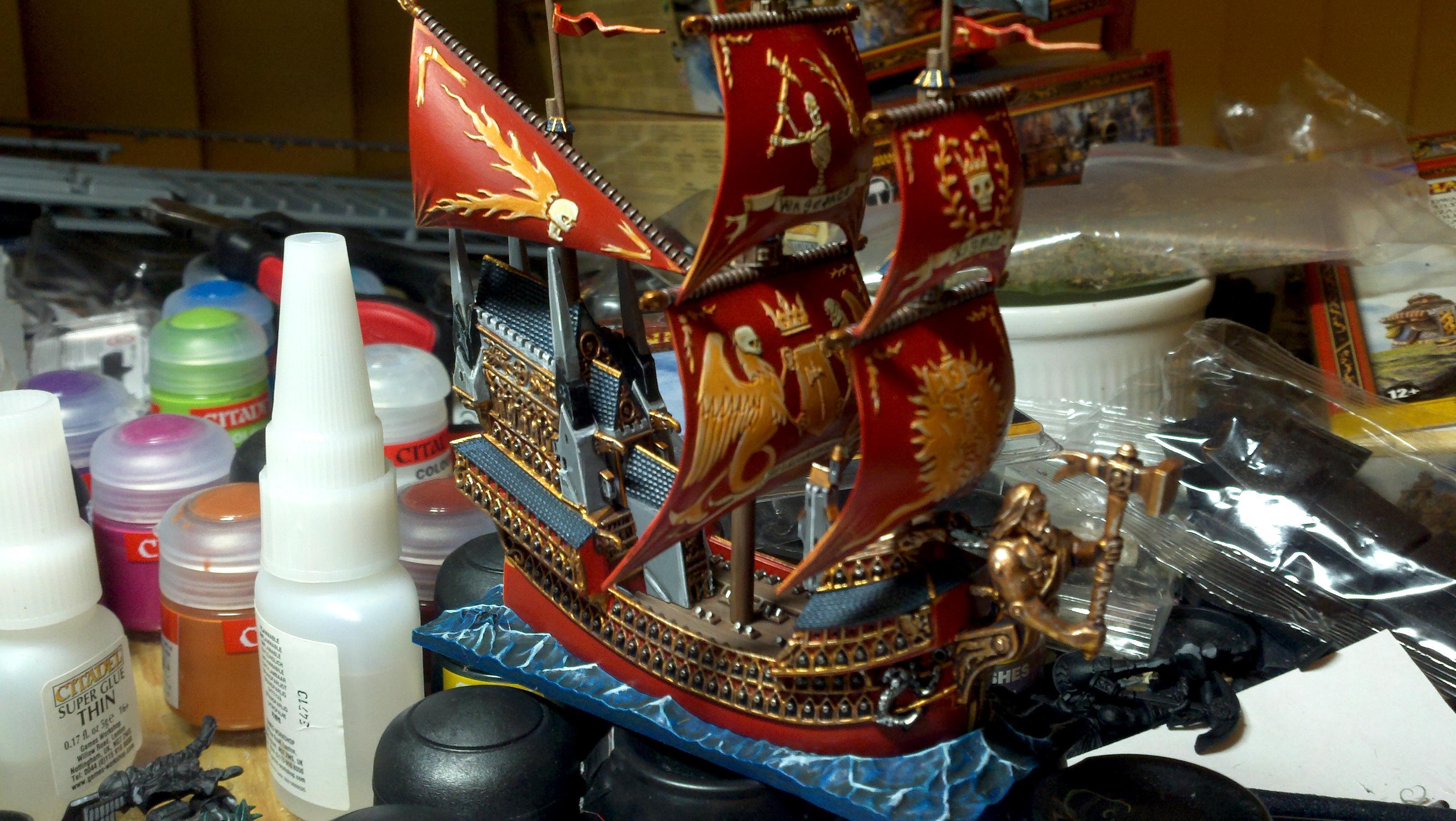 Captain Jaego Roth, Dreadfleet, Helden Hammer, Pirate, Pirates, Sea, Ship, Yar