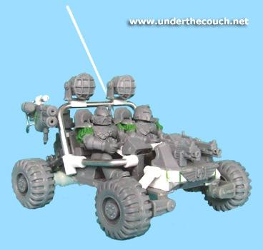 Attack Bike, Bike, Buggy, Conversion, Land Runner, Quad Bike, Space Marines