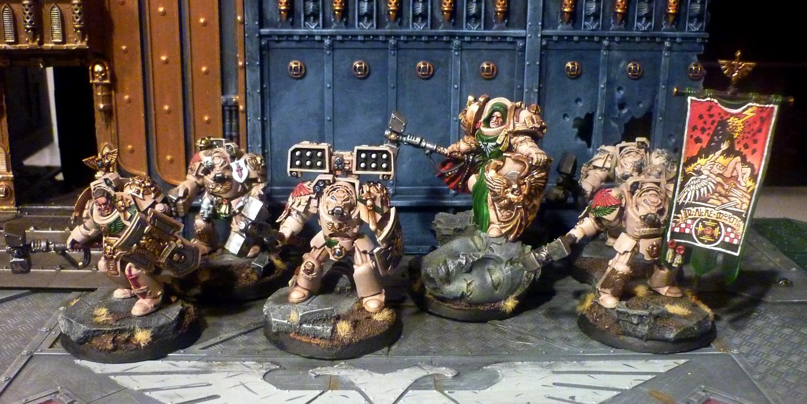 Apothecary, Belial, Conversion, Dark Angels, Deathwing, Scibor, Sf Angel Knight, Standard, Terminator Armor