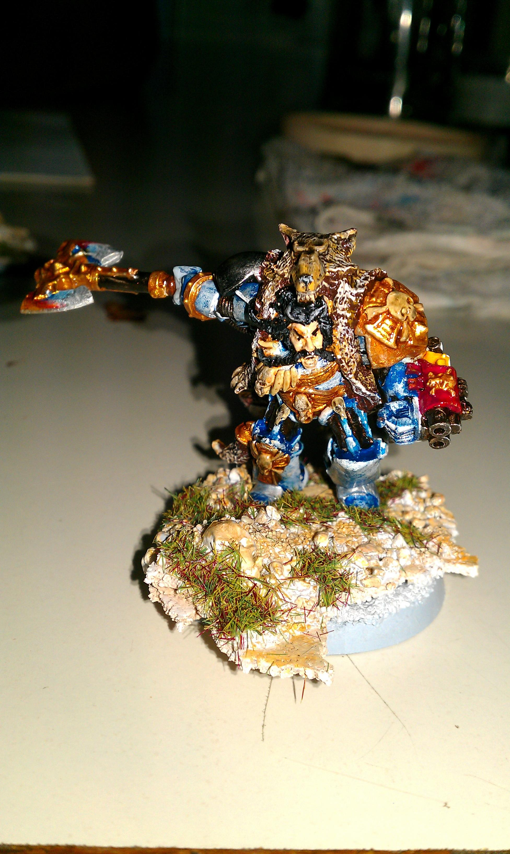 Commander, Logan, Space Wolfes, Space Wolves, Warhammer 40,000