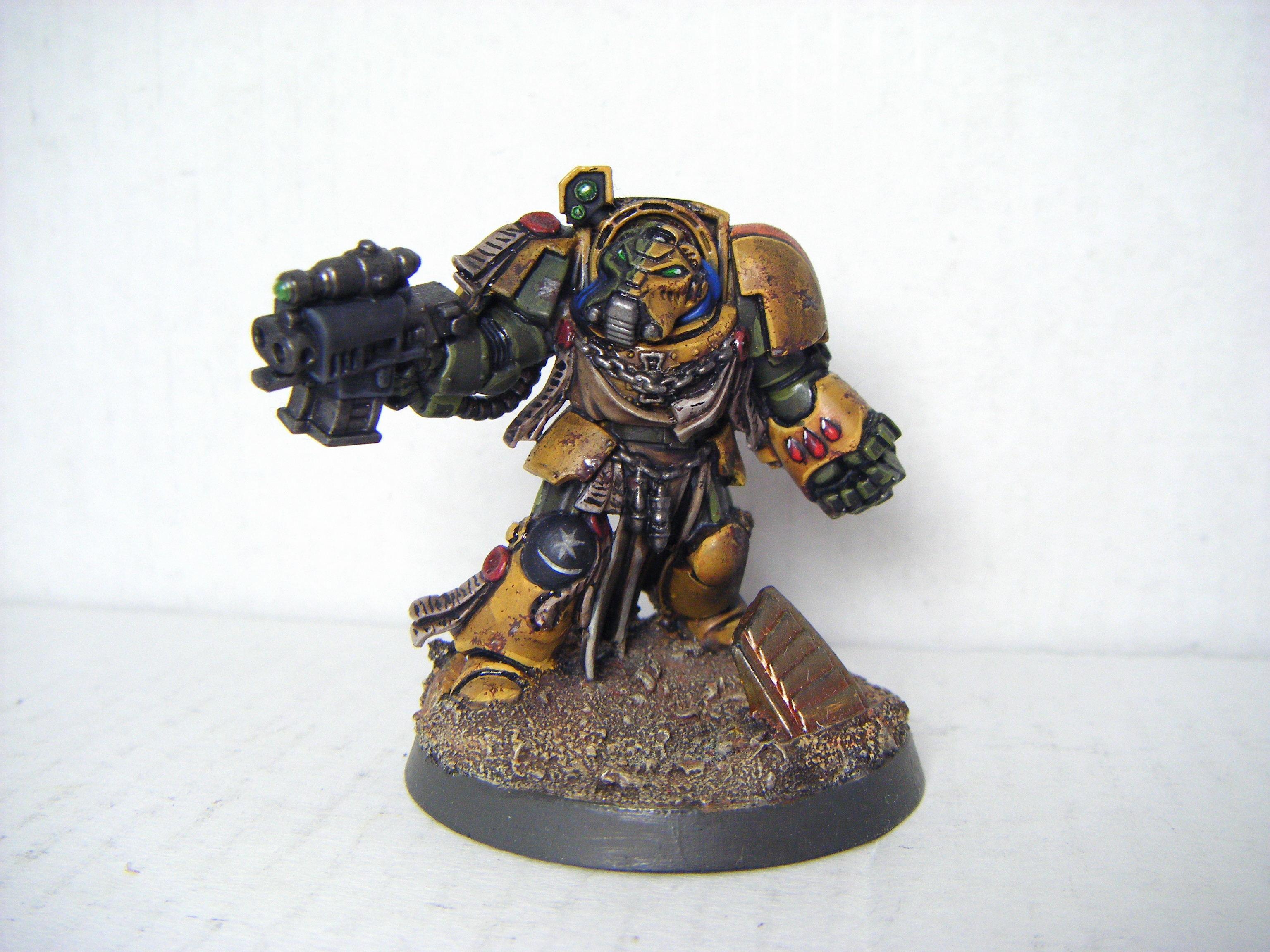 Space Marines, Terminator Armor, Weathered