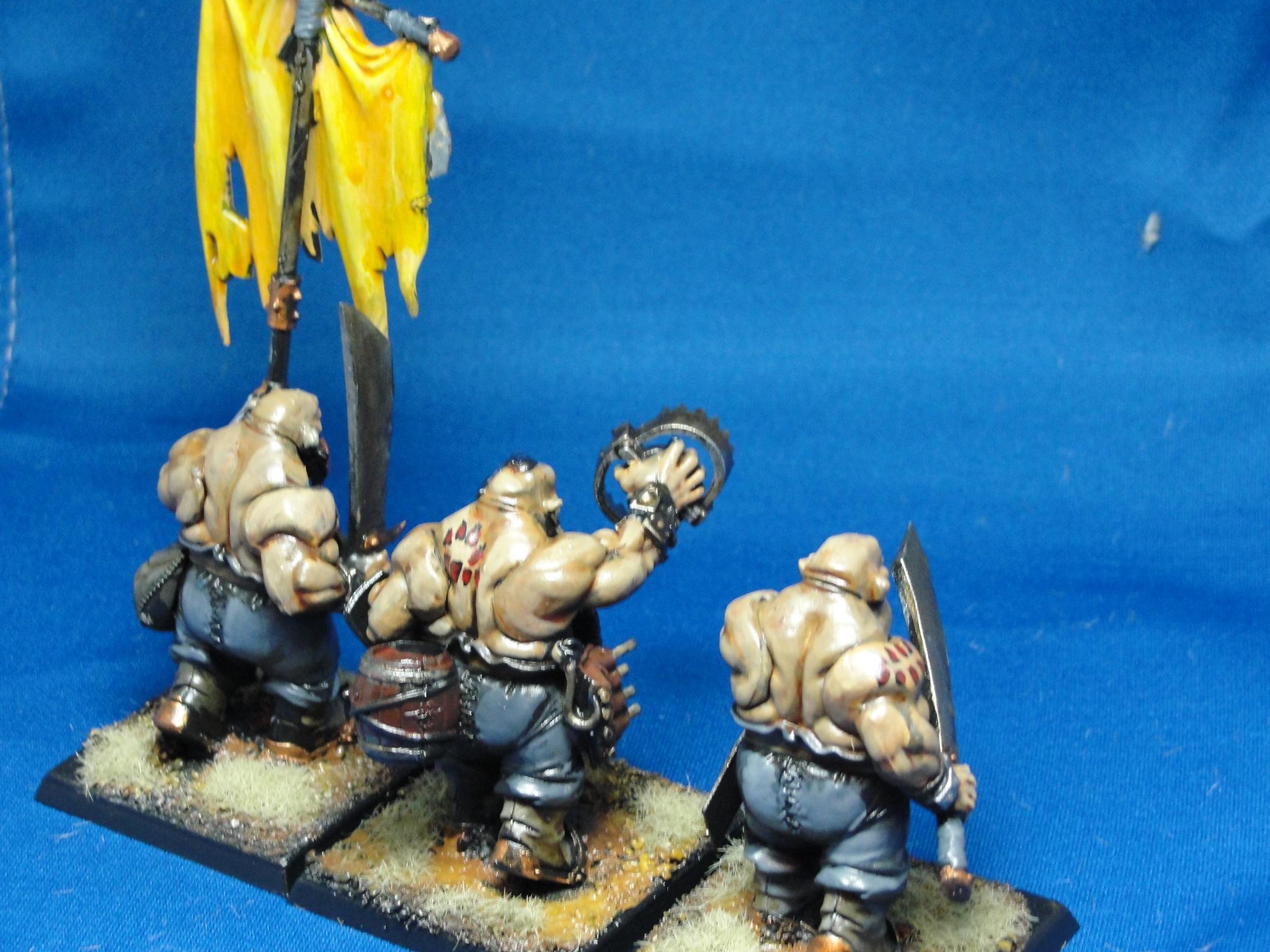 Ogres, Warhammer Fantasy, Ogre Kingdoms, Ogre Bulls
