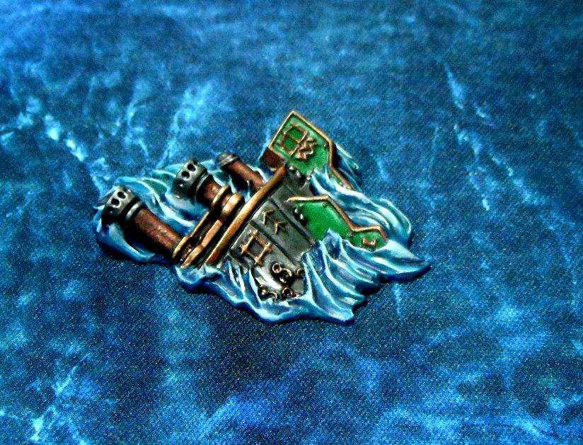 Dreadfleet, Island, Shipwrecks, Terrain, Work In Progress