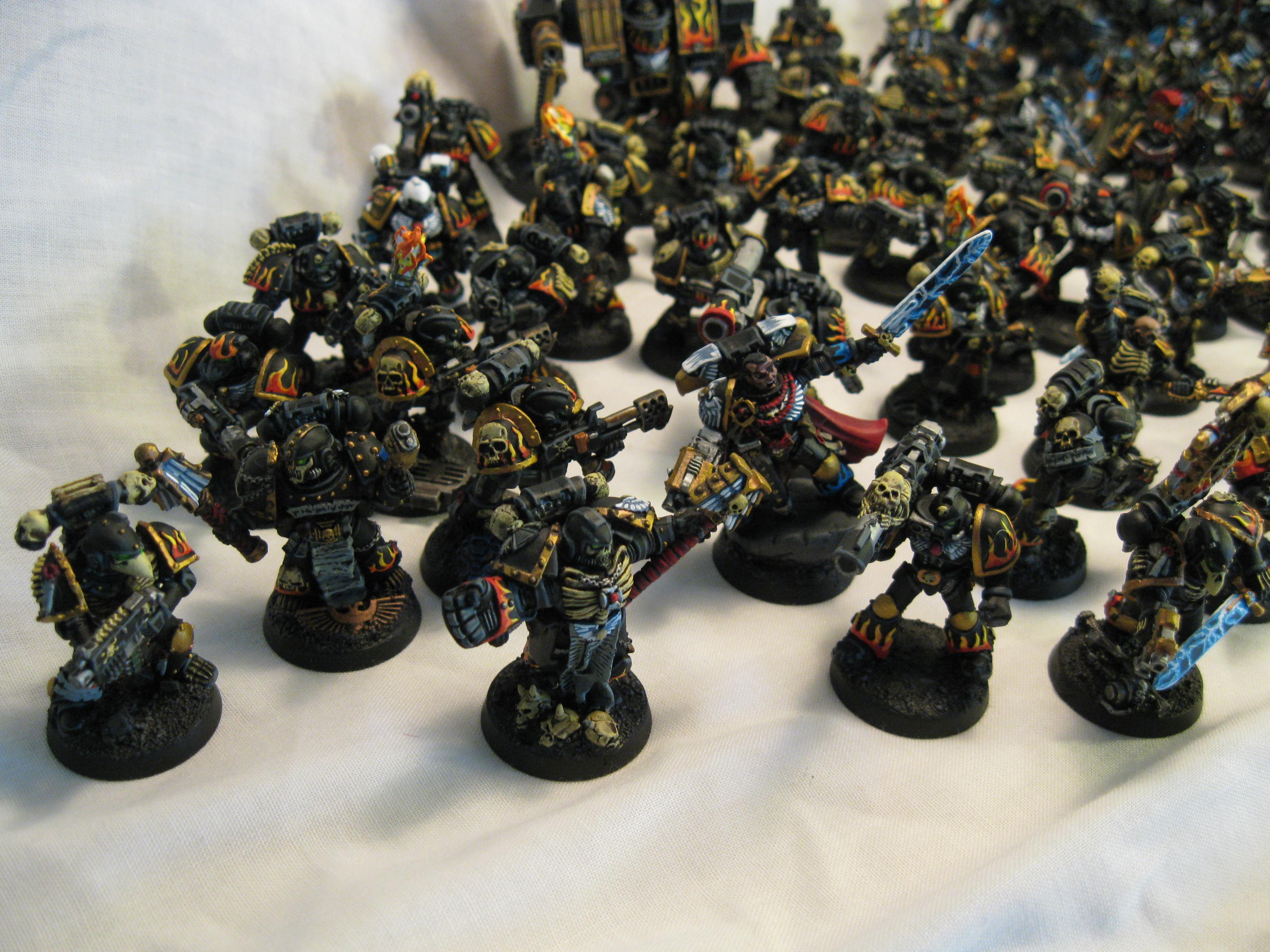 Chaplain, Commission, Legion Of The Damned, Pro Painted, Space Marines, Warhammer 40,000