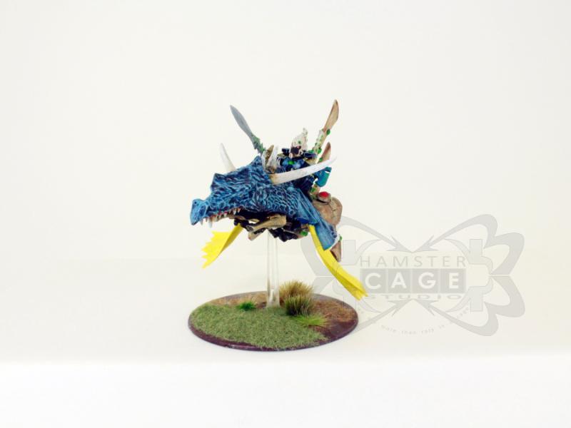 Conversion, Eldar, Eldar Jetbike, Eldar Nightspinner, Eldar Wave Serpent, Freehand, Mural, Warlock
