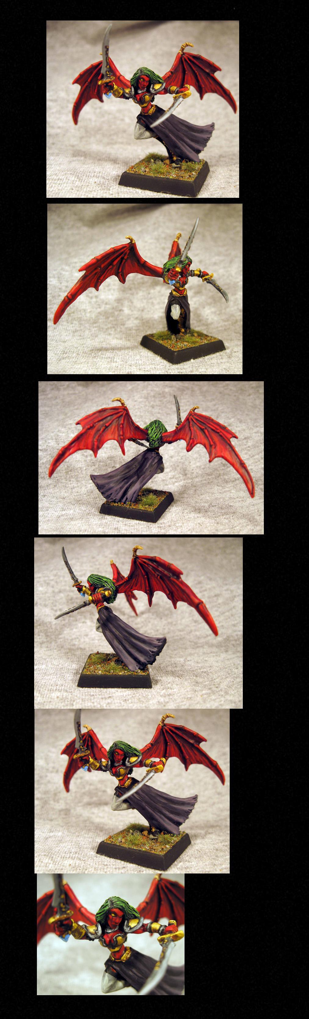 Daemons, Pathfinders, Pro Painted, Reaper, Reaper Miniatures, Reaper Minis, Rpg, Succubus, Warhammer Fantasy