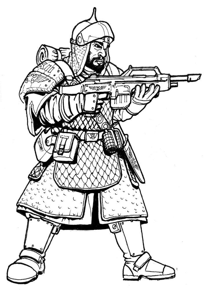 Dragoon, Gaunt, Guard, Imperial, Regiment, Tanith, Troops, Vitrian