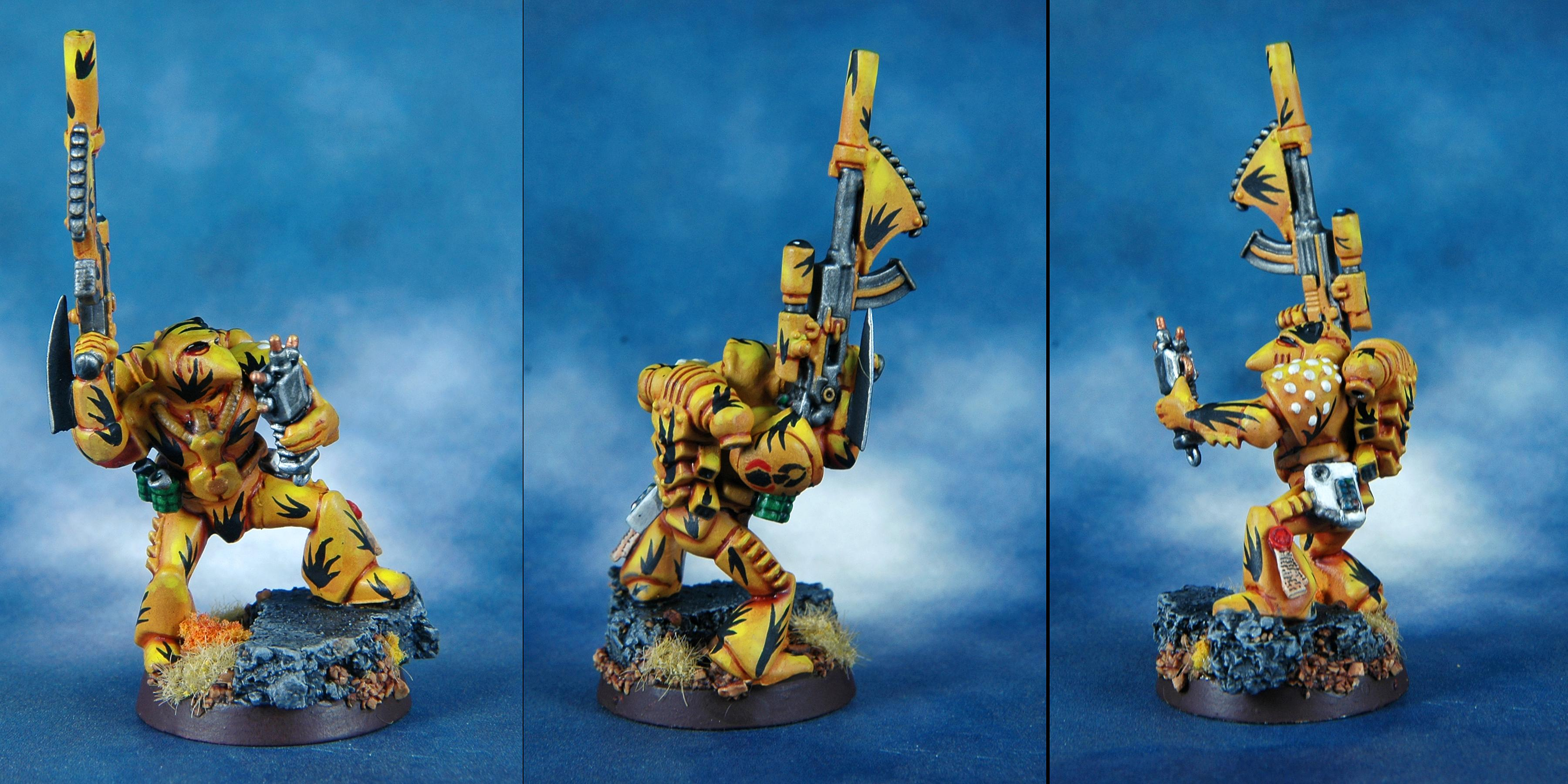 Mantis Warriors, Space Marines, Sternguard, Tranquility Sniper, Warhammer 40,000