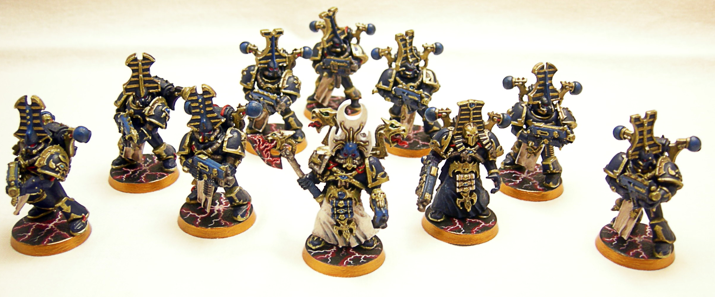 28mm, Based, Bolters, Boltgun, Chaos Space Marines, Elites, Force Weapon, Games Workshop, Painted, Psyker, Rubric, Rubrics, Space Marines, Sword, Thousand Sons, Troops, Tzeentch, Warhammer 40,000
