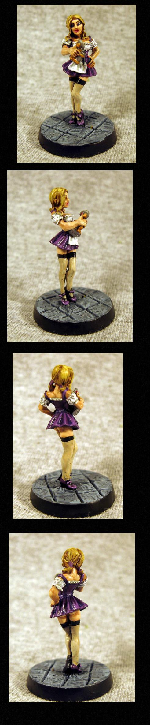 Female, Girl, Pathfinders, Pro Painted, Reaper, Reaper Miniatures, Reaper Minis, Rpg, Sexy, Warhammer Fantasy
