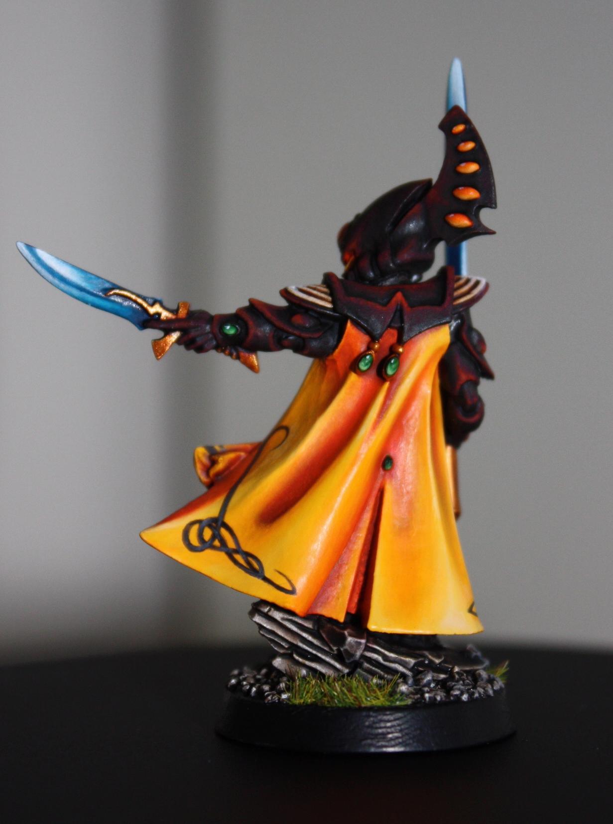 Eldar, Gems, Headquarters, Seer Council, Shading, Warlock, Witchblade