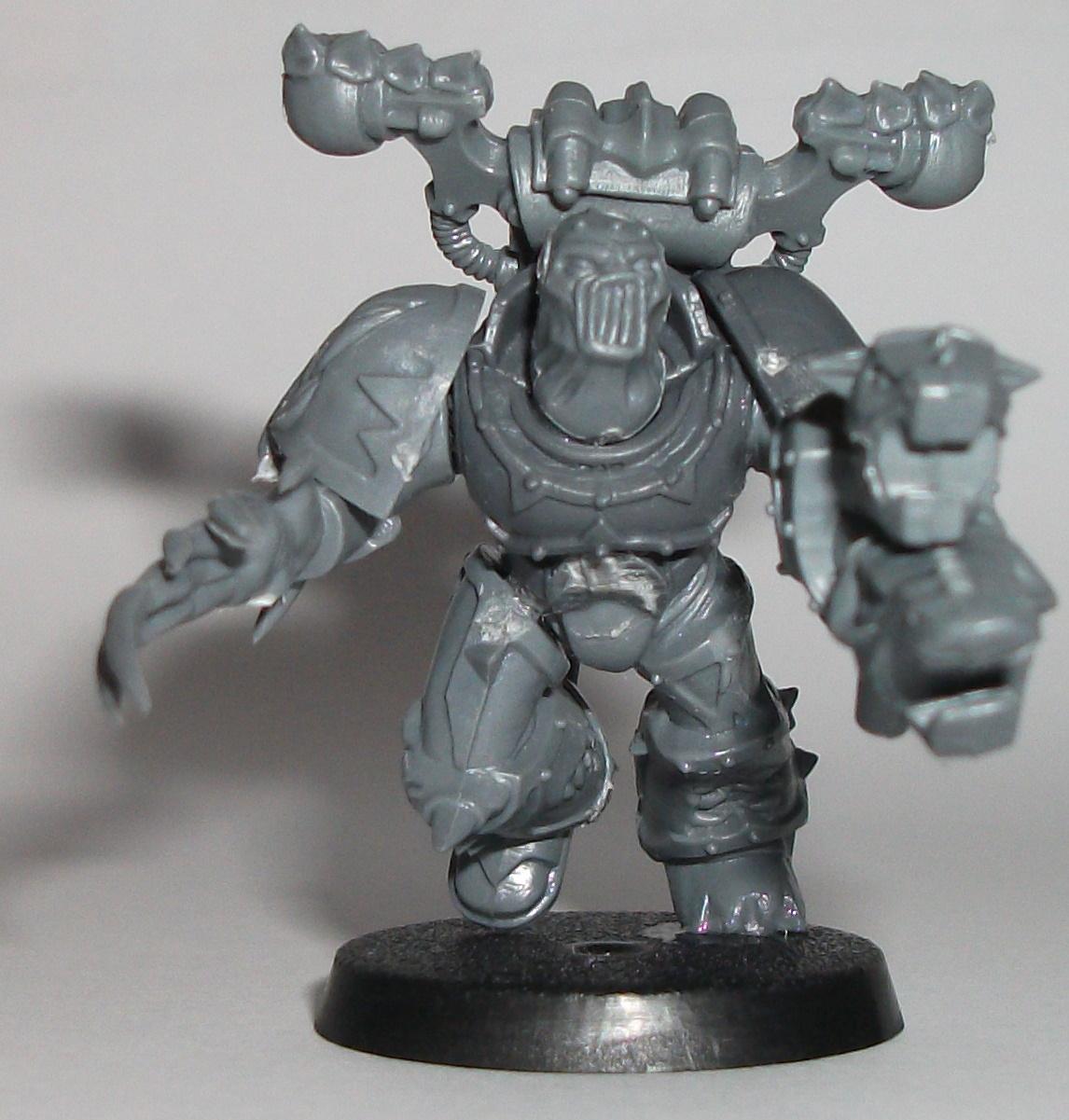 Fellshriek with MK15 prototype Screech Master