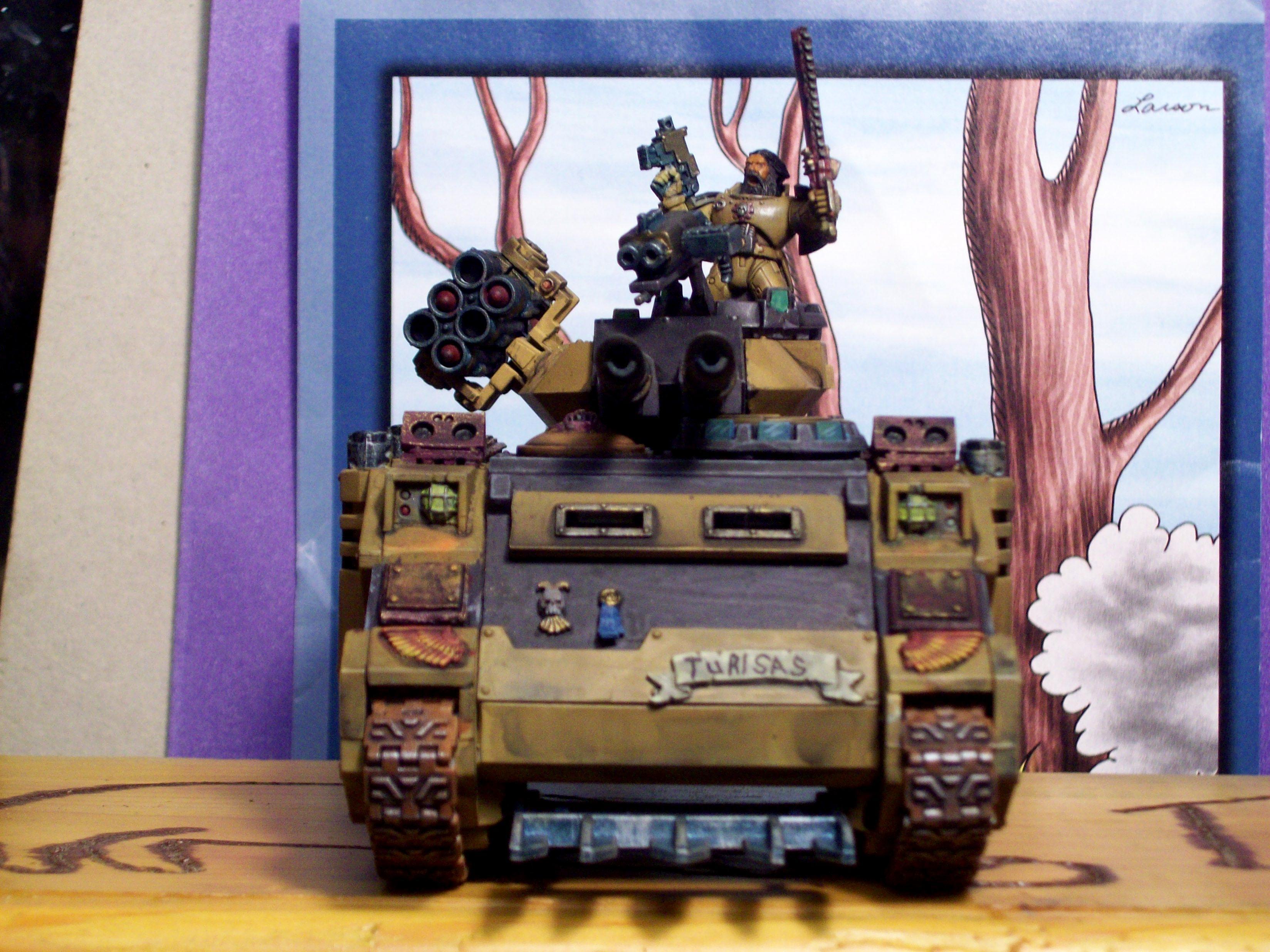 Nifty, Predator, Space Marines, Tank