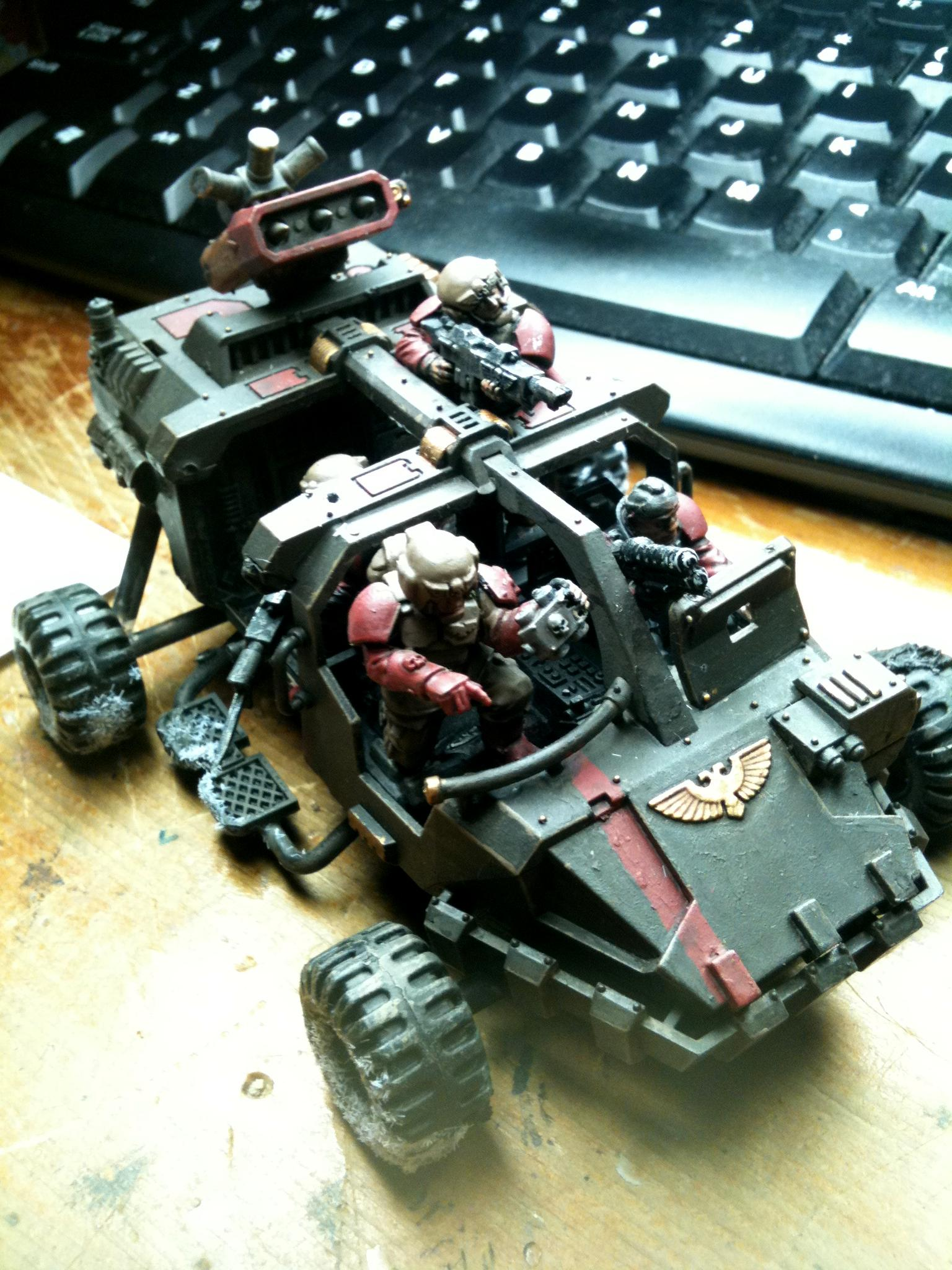 Buggy, Land Runner, Land Speeder, Rocket Launcher, Rough Terrain Modifications, Scouts, Sentinel