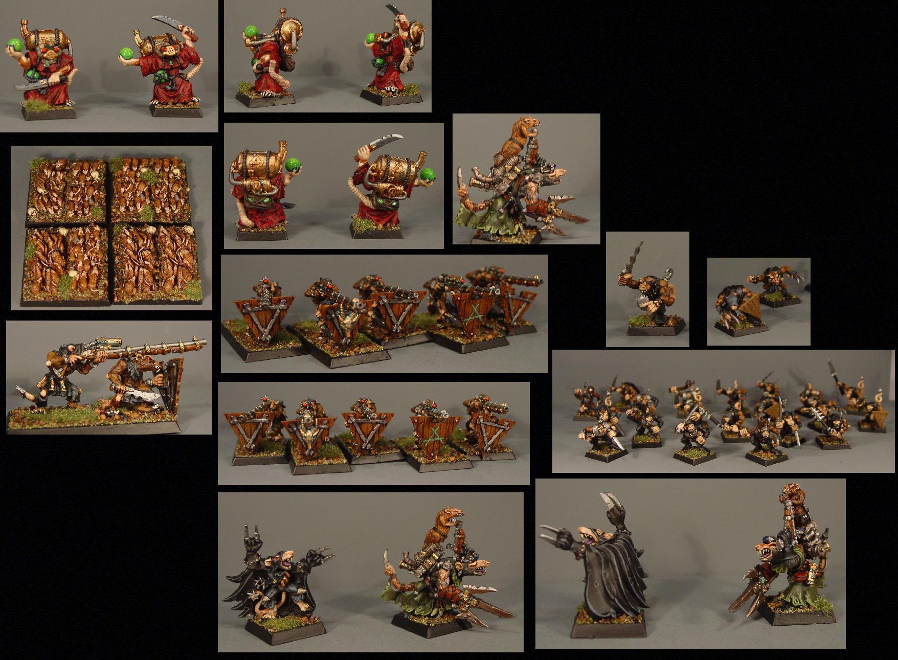 Army, Pro Painted, Rpg, Skaven, Warhammer Fantasy