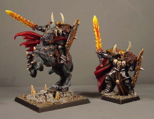 Archon, Chaos, Chaos Wariors, Pro Painted, Rpg, Warhammer Fantasy