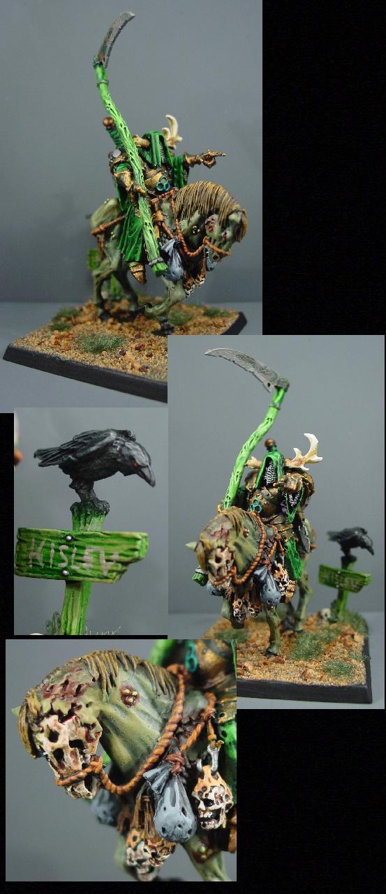 Cavalry, Chaos, Chaos Wariors, Horseman, Nurgle, Rpg, Undead, Warhammer Fantasy