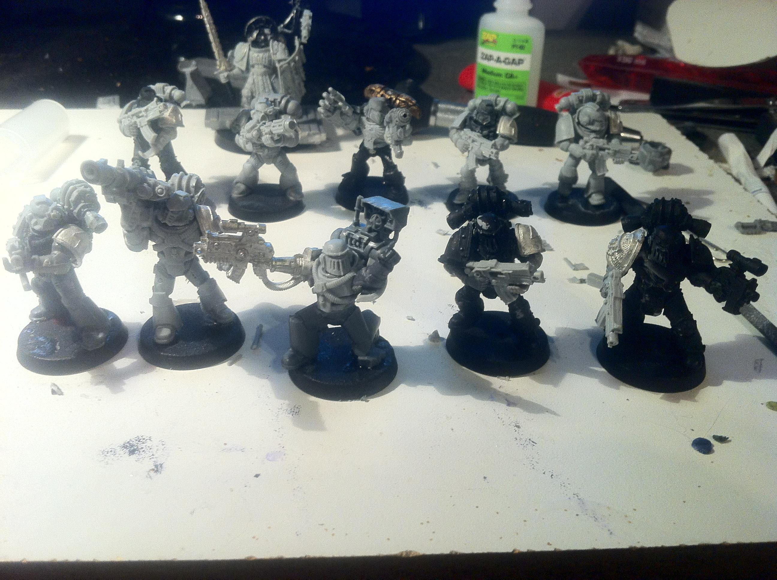 Astral Claws, Badab War, Space Marines, Tactical Squad