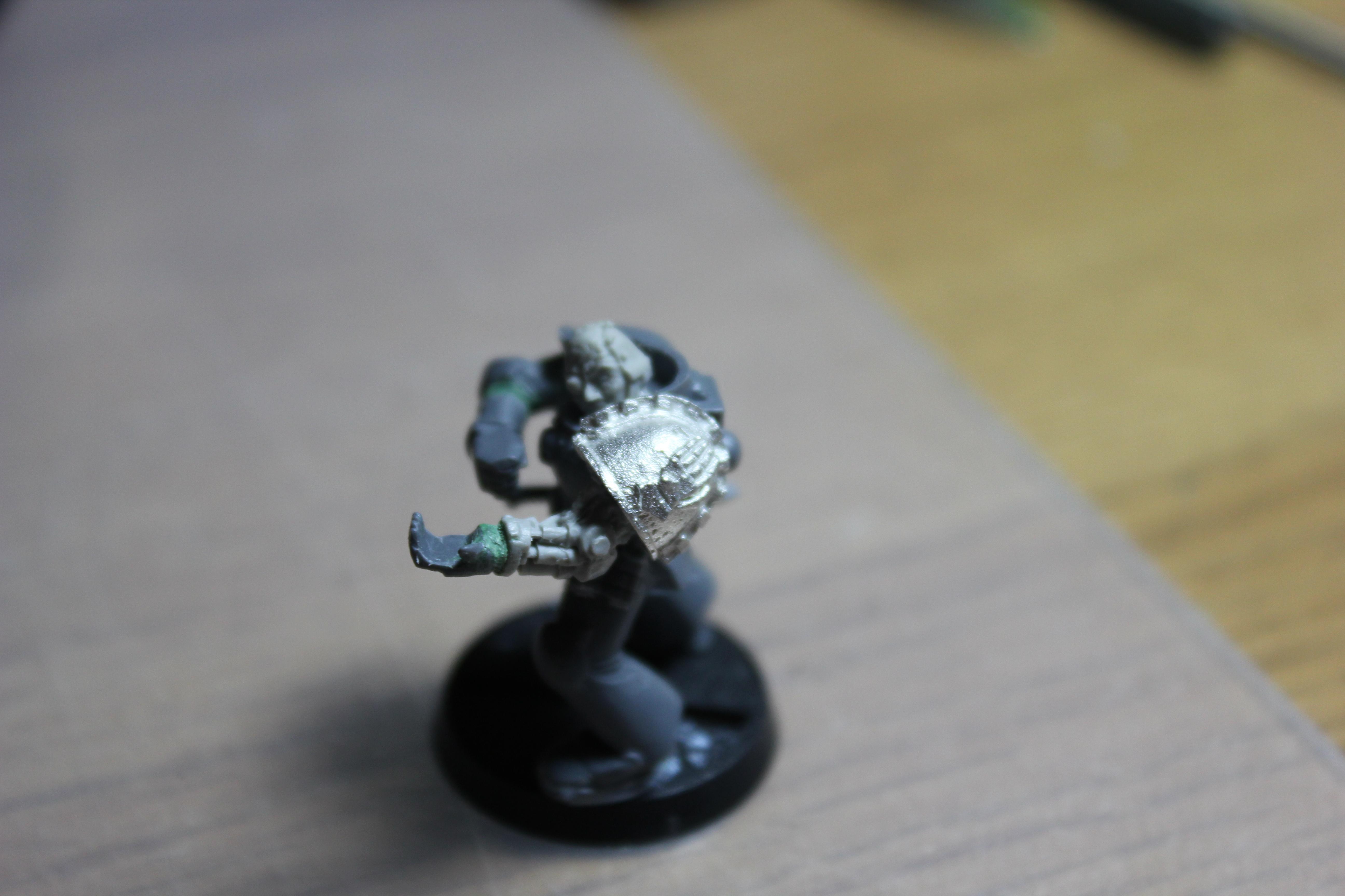 Iron Hands, Space Marines, Warhammer 40,000, Work In Progress