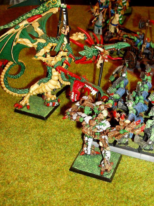 Army, Dragon, Warhammer Fantasy, Wood Elves
