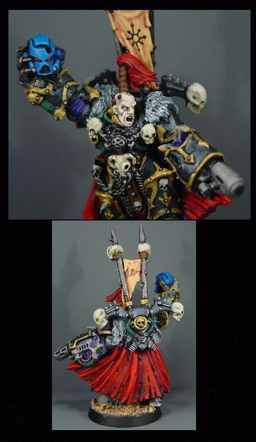 Chaos, Chaos Space Marines, Pro Painted, Warhammer 40,000