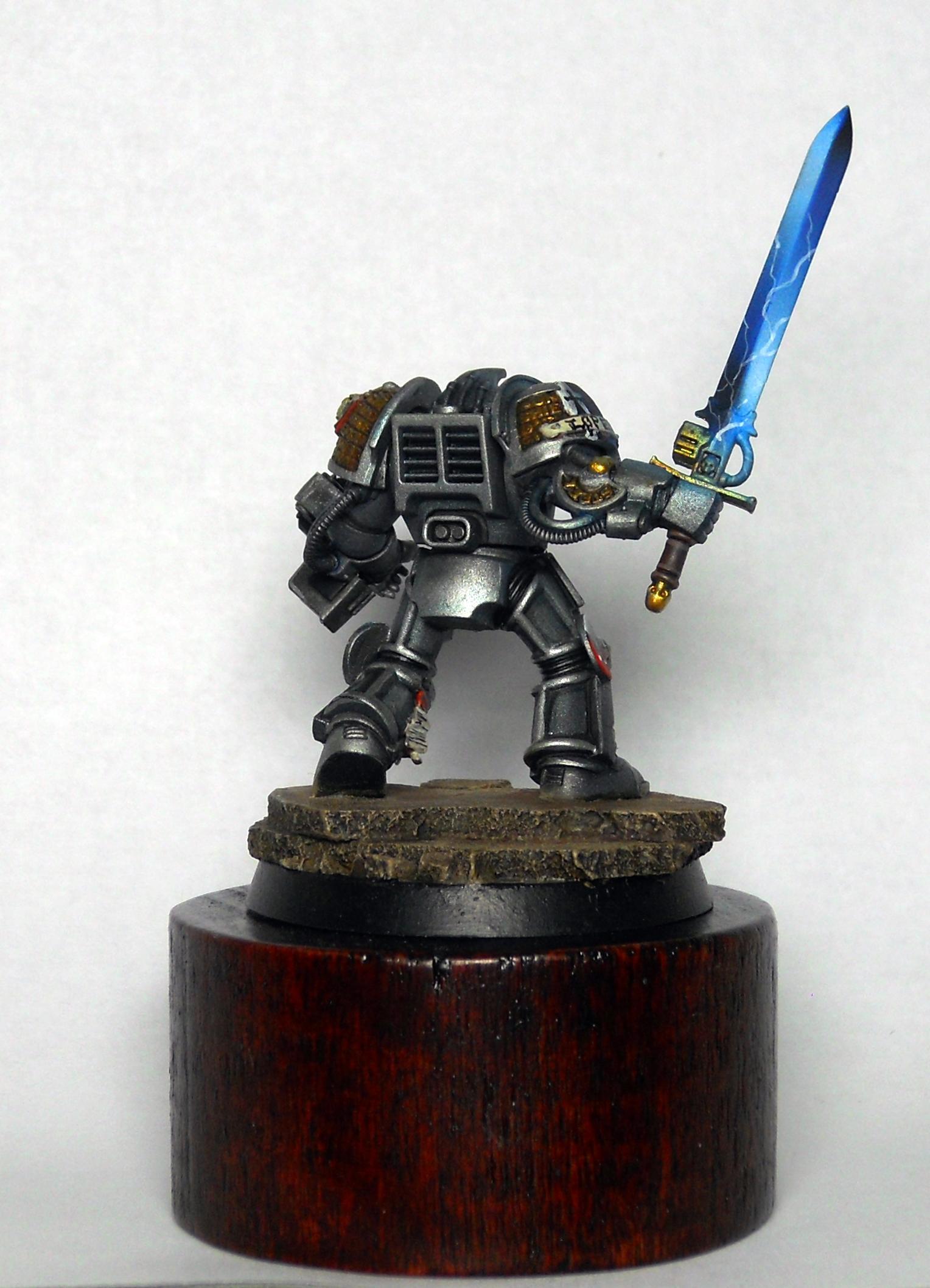 Grey Knights, Power Sword, Space Marines, Terminator Armor, Warhammer 40,000