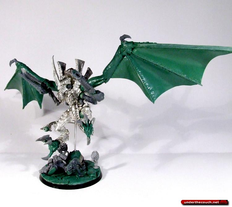 Conversion, Flyrant, Hive Tyrant, Sculpted, Tyranids, Winged