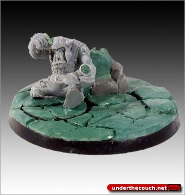 Boy, Casualty, Conversion, Markers, Orks, Sculpted, Warhammer 40,000, Wounded