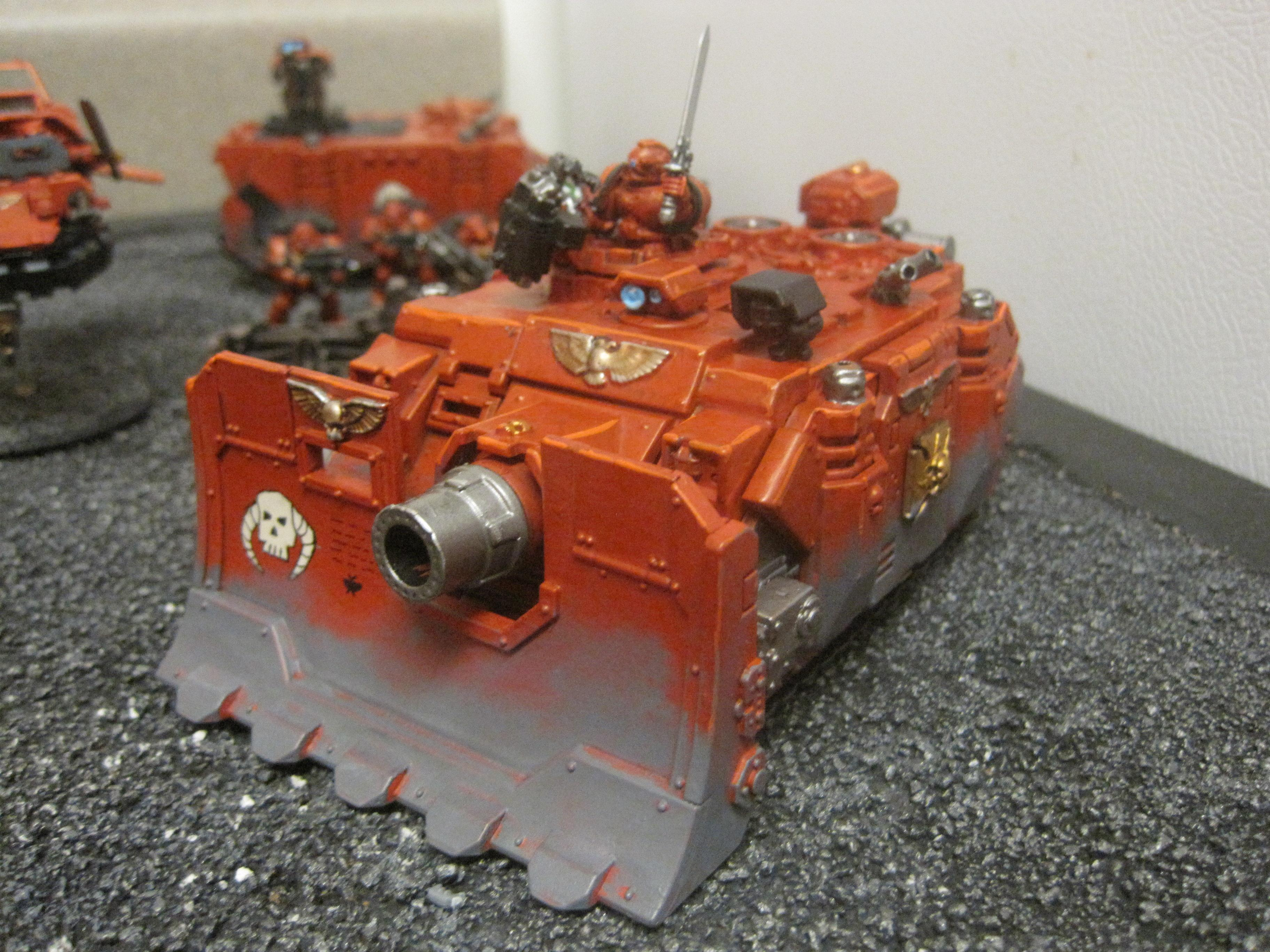 Army, Exorcists, Space Marines, Vulkan