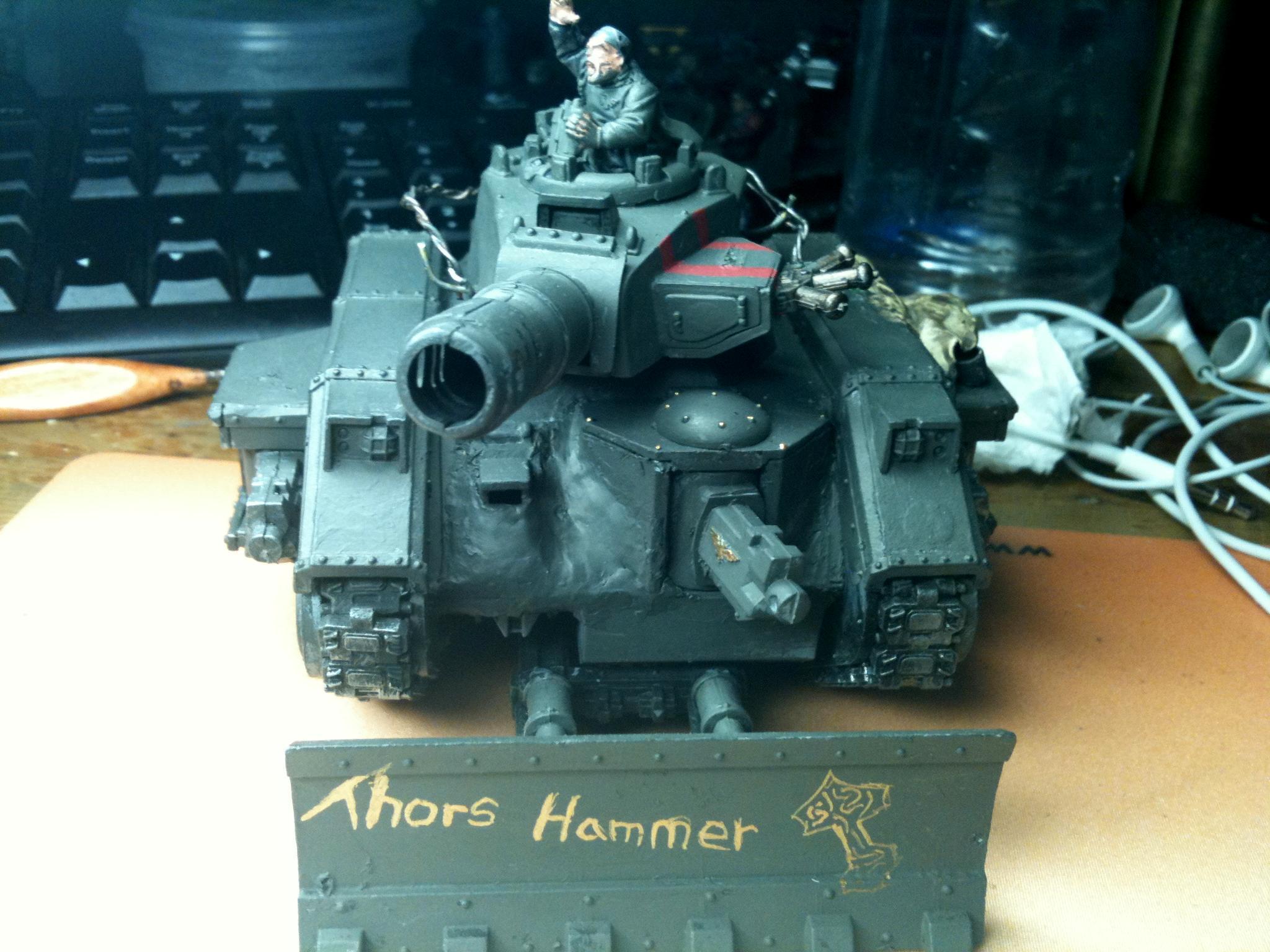 Imperial Guard, Leman Russ, Tank, Thors Hammer, Warhammer 40,000