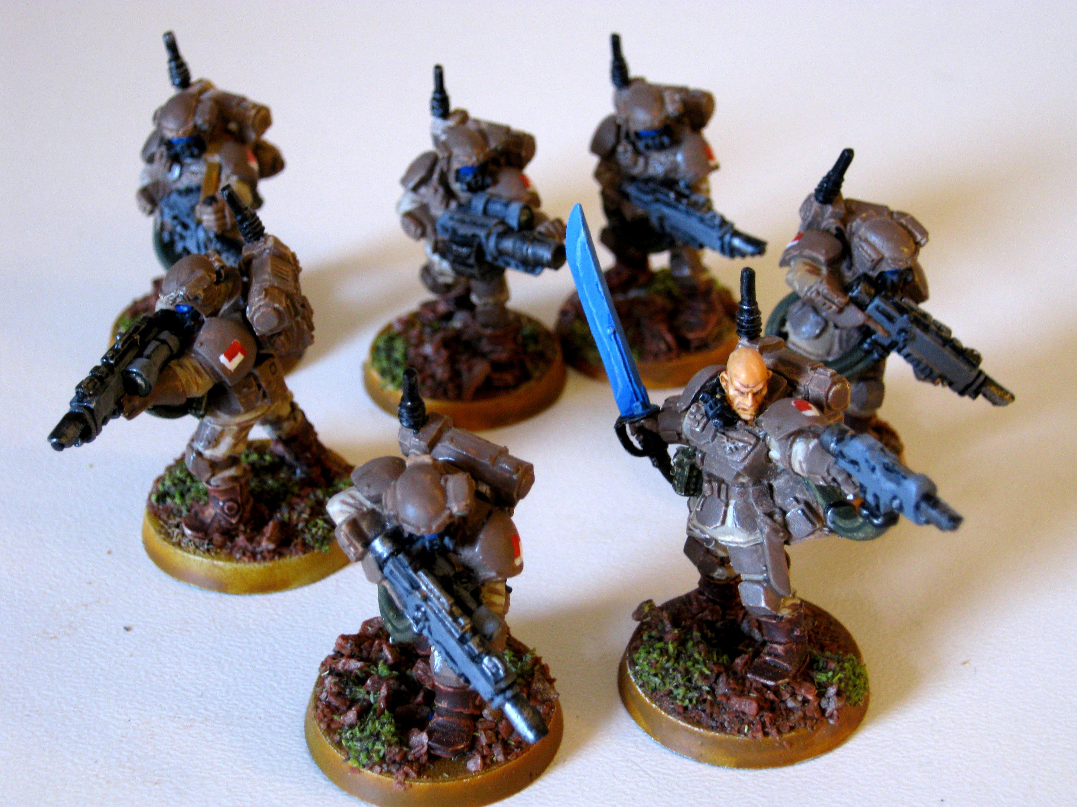 Imperial Guard, Kaskrin, Storm Troopers, Warhammer 40,000