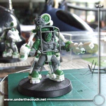 Conversion, Exosuit, Scouts, Scratch Build, Sculpted, Terminator Armor, Work In Progress