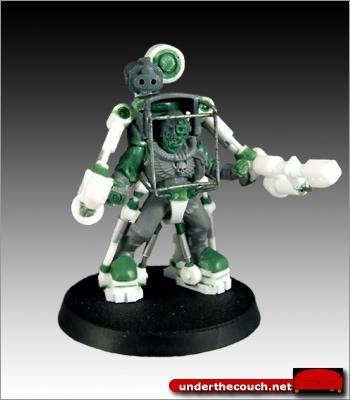 Conversion, Exo-suit, Scouts, Scratch Build, Sculpted, Terminator Armor
