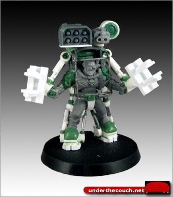 Conversion, Cyclone, Exo-suit, Scouts, Scratch Build, Sculpted, Terminator Armor
