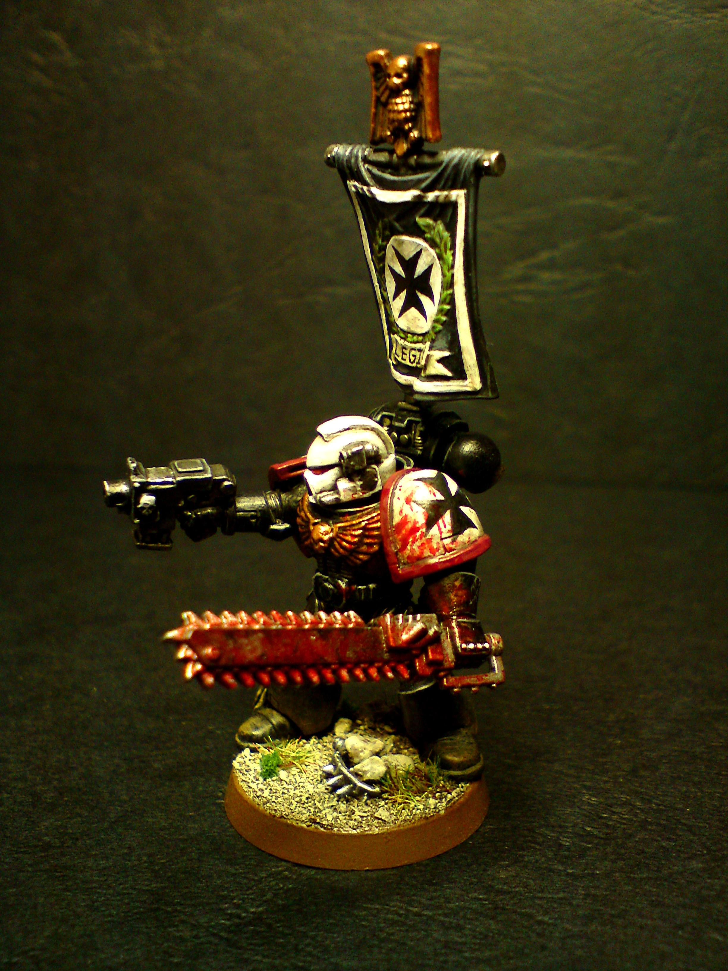 Black Templars Sergeant (left side)