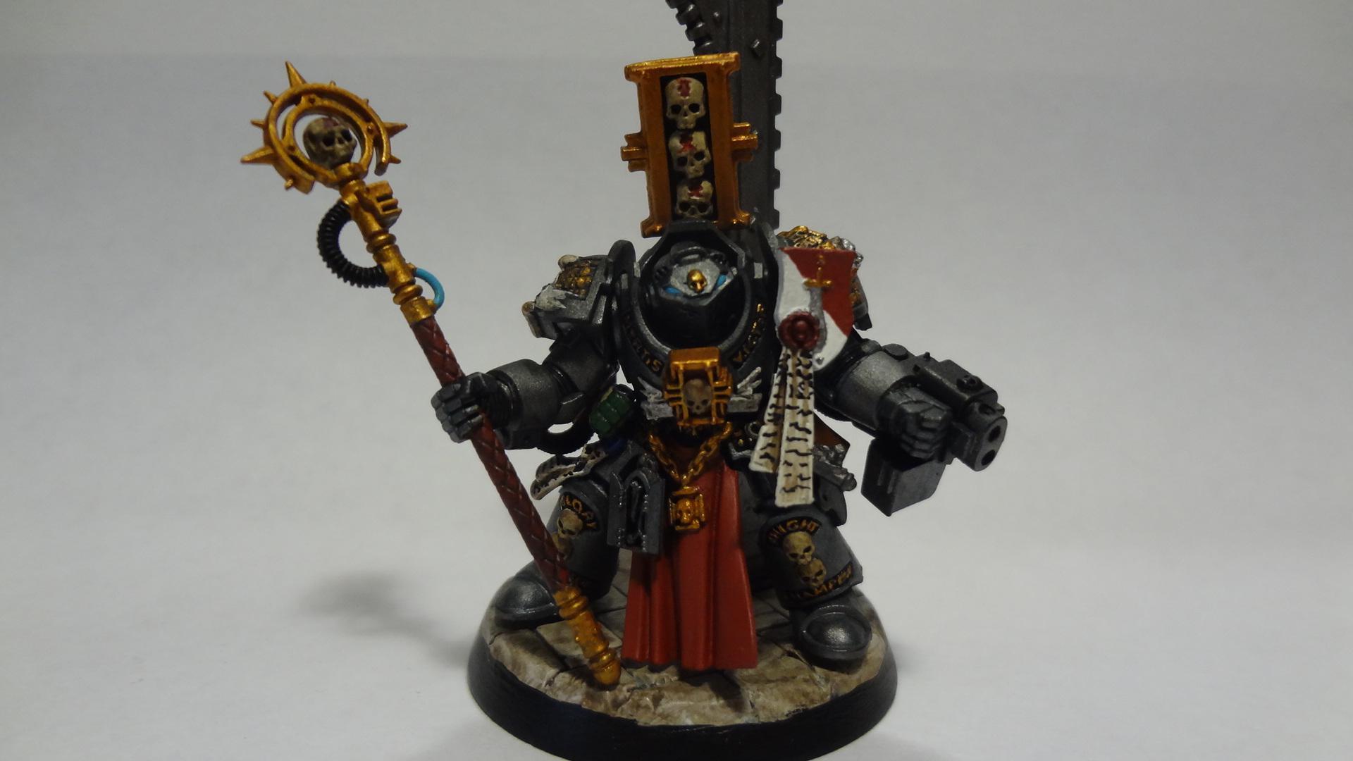 Grey Knights, Justicar Dominick, Staff, Terminator Armor