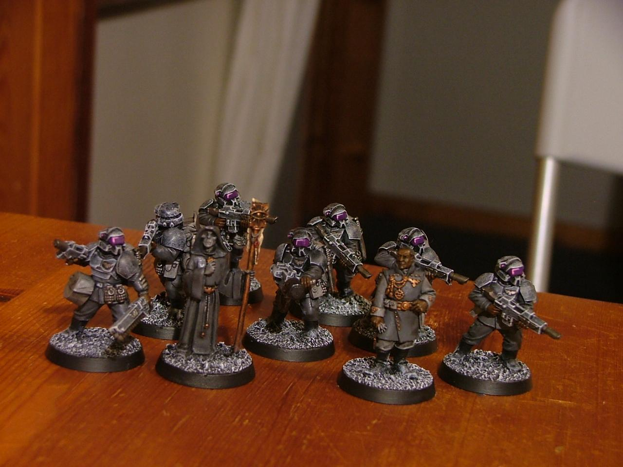 Command Squad, Imperial Guard, Pig Iron, Telepath