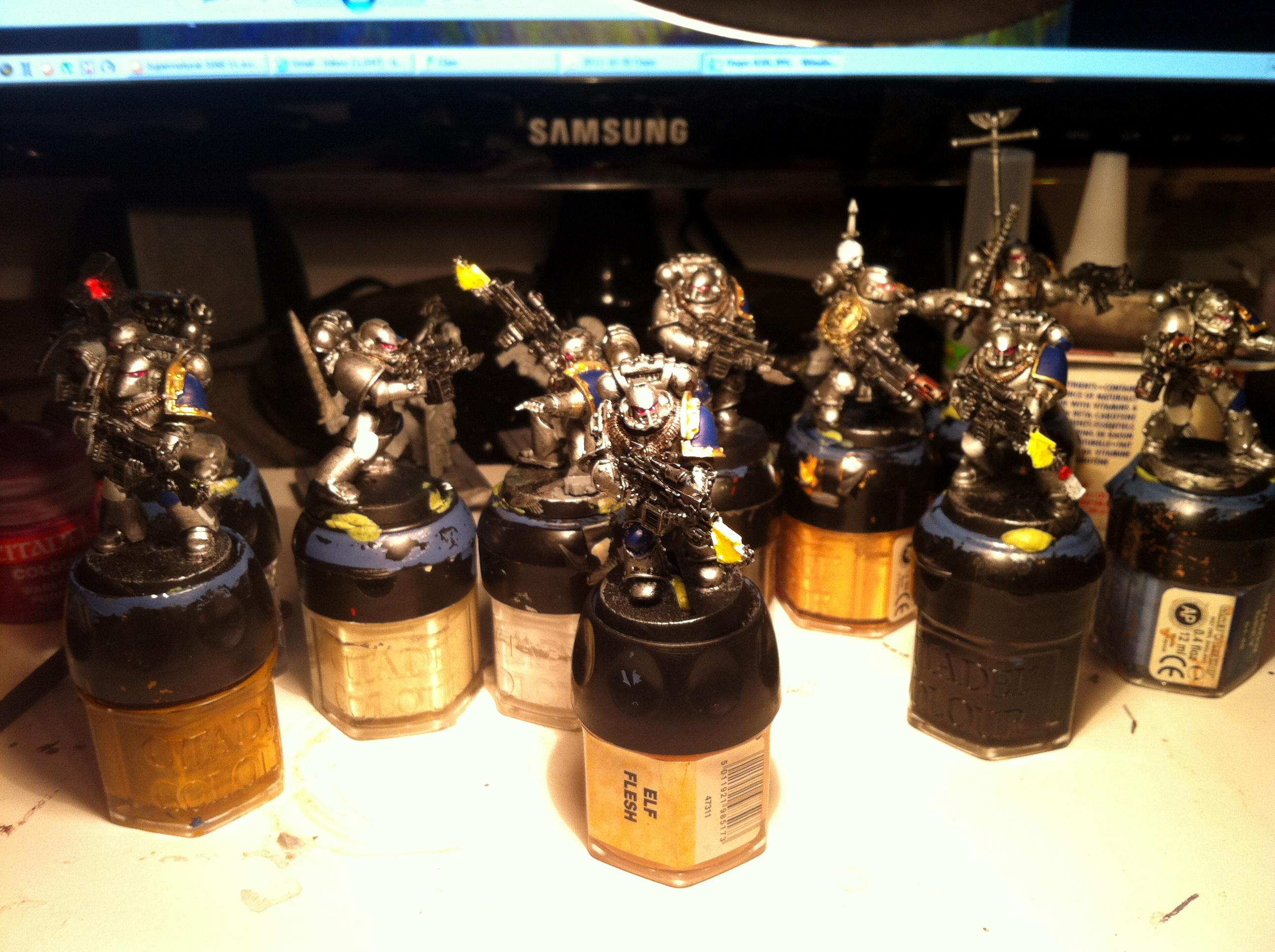 Army, Astral Claws, Badab War, Huron, Identifyzero, Tactical Squad, Unfinished
