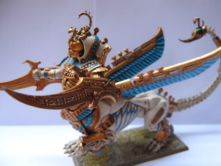 Necrosphinx, Tomb Kings, Warhammer Fantasy