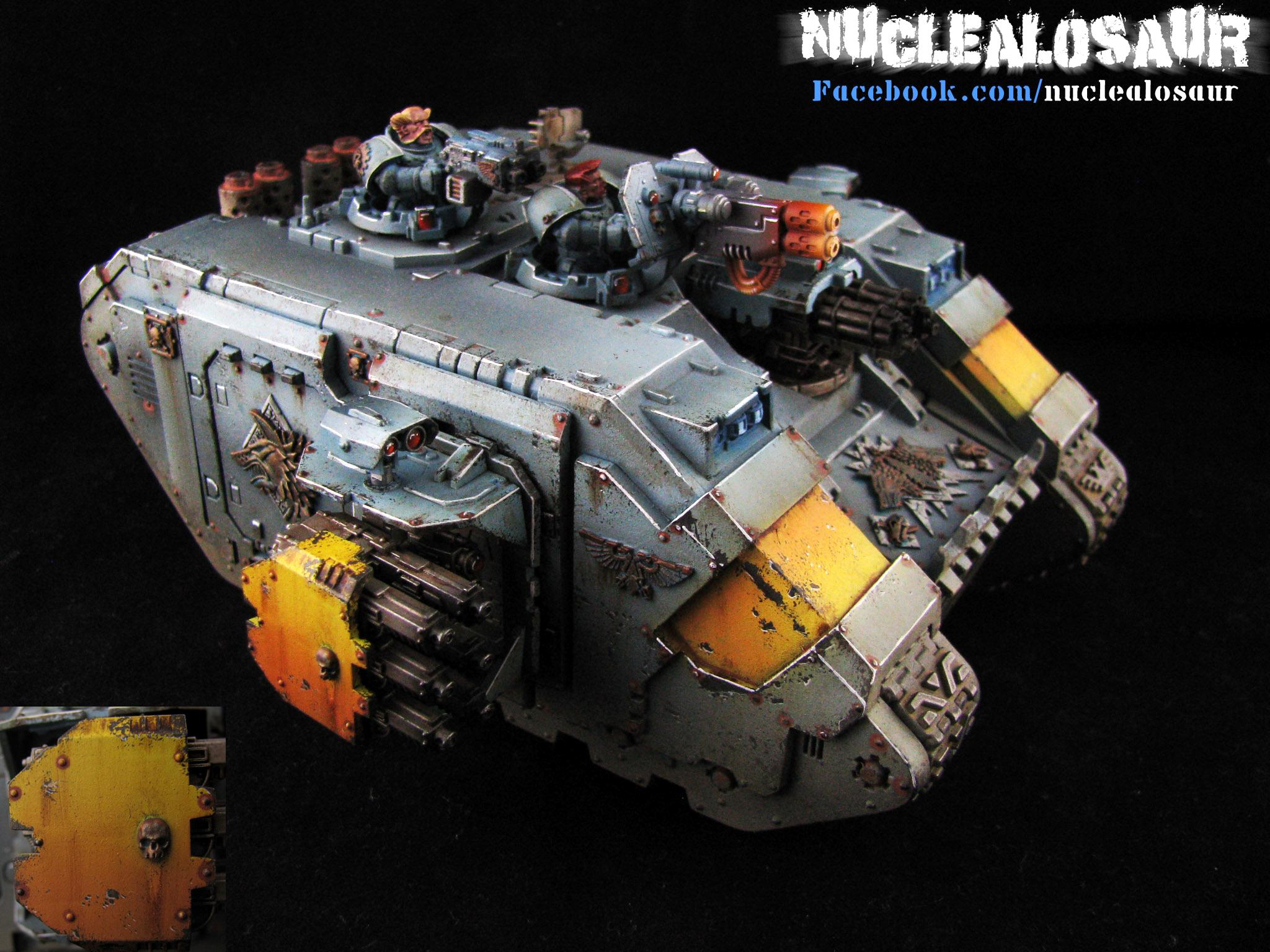 Space Wolves Land Raider