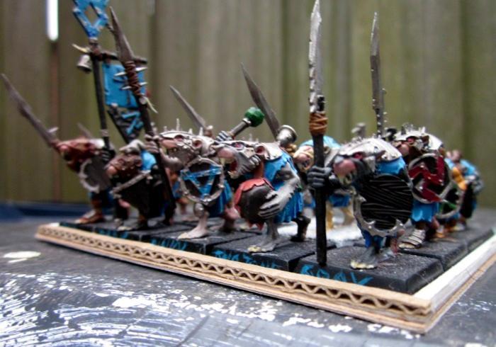 Clanrats, Skaven, Warhammer Fantasy