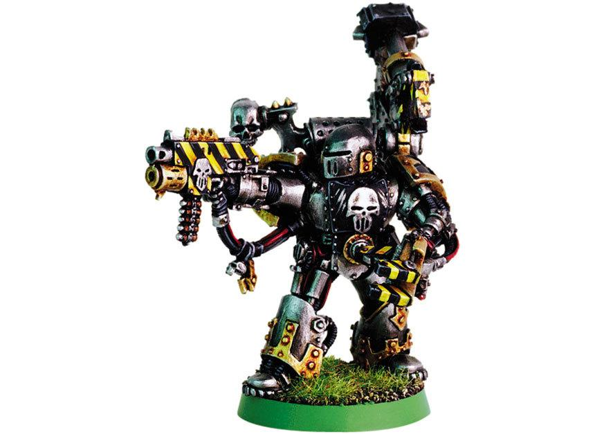 Chaos Space Marines, Disable, Iron Warriors