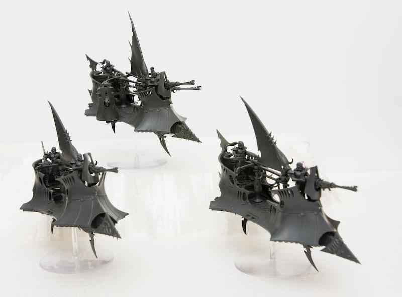 Dark Eldar, Work In Progress