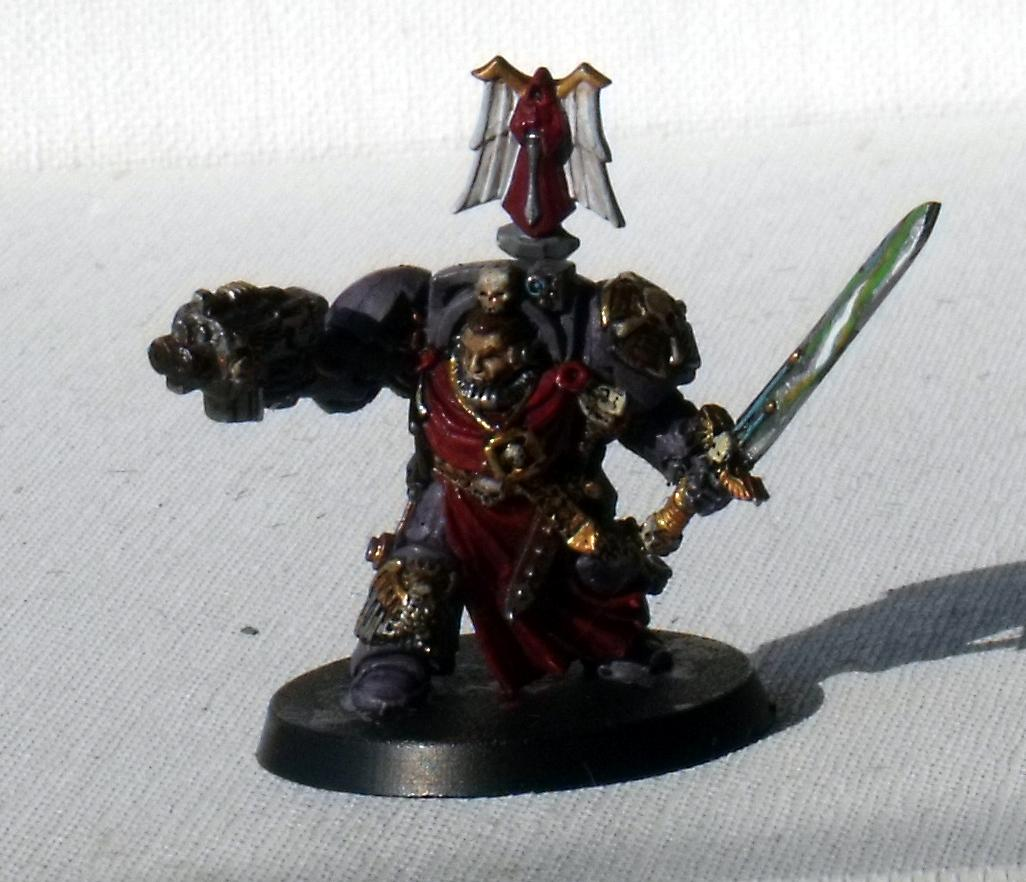 Terminator Captain, Used as Master of the Deathwing