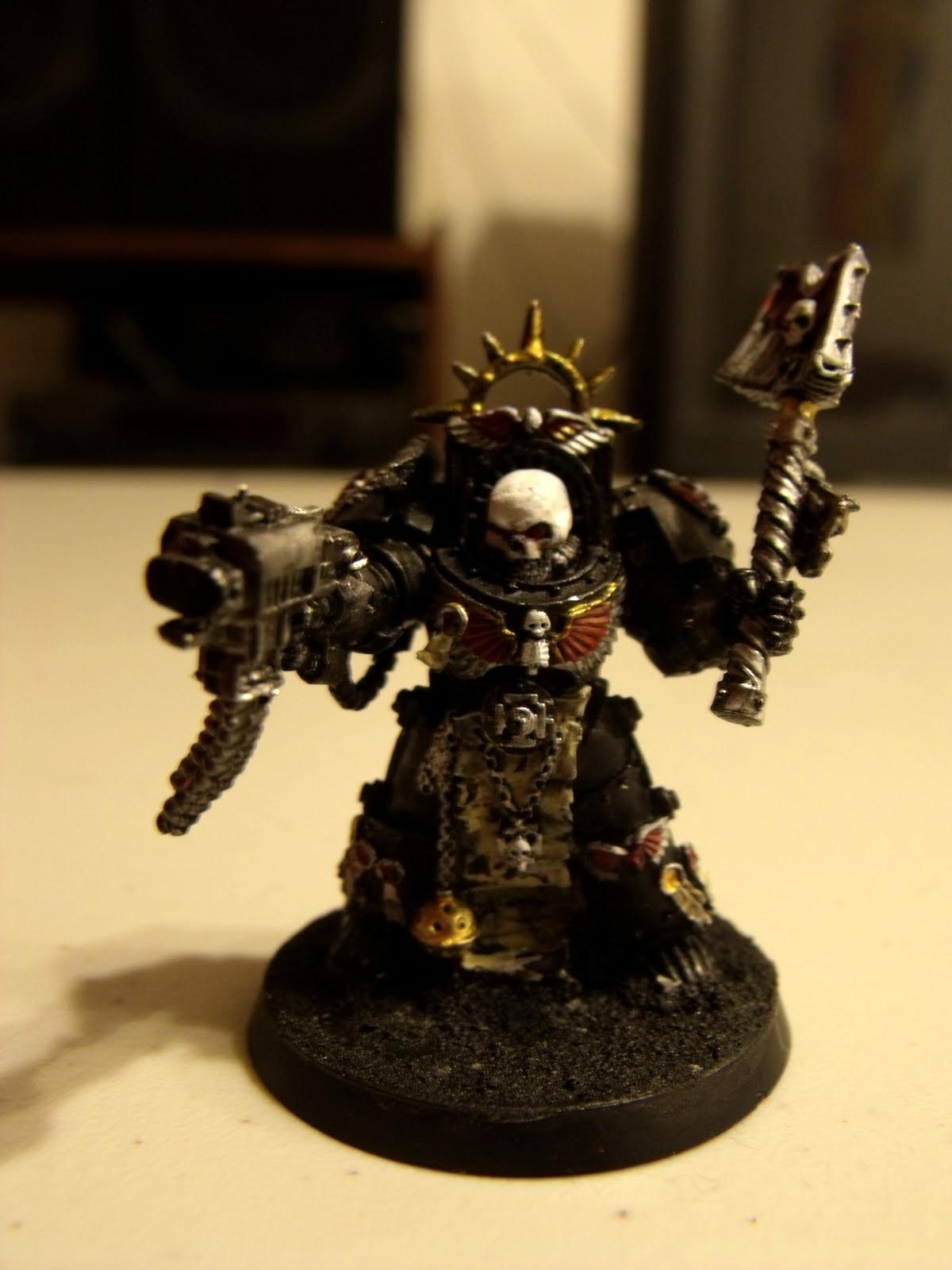 Chaplain, Space Marines, Warhammer 40,000