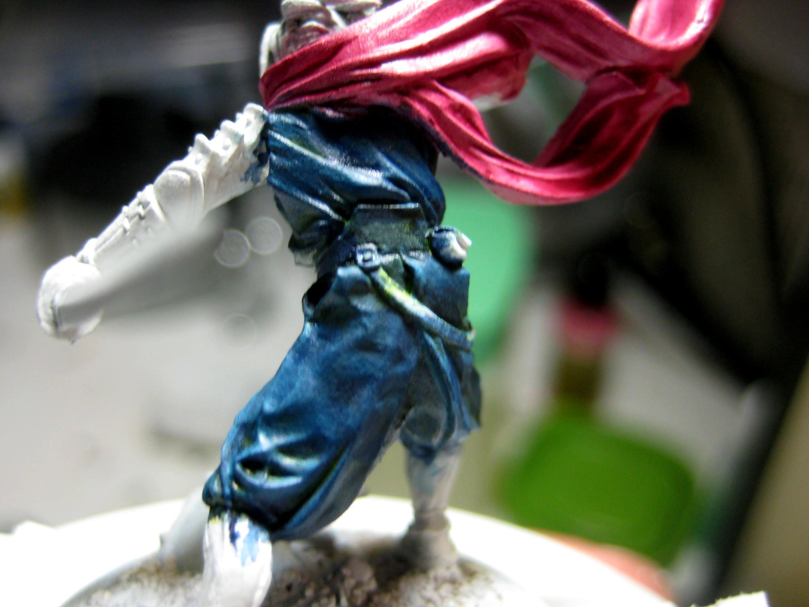 Anima Tactics, Conversion, Greenstuff, Ninjas, Shinobi, Strider, Work In Progress