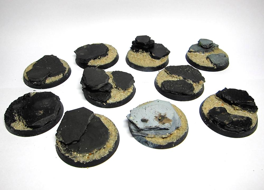 WIP 40mm Bases
